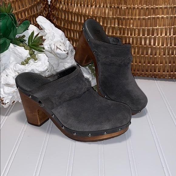 UGG Shoes - Ugg Kaylee Suede Clogs
